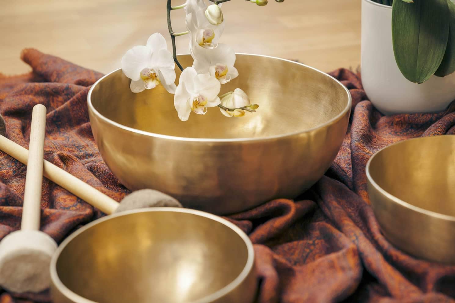 Massaggio Sonoro Vibrazionale Campane Tibetane