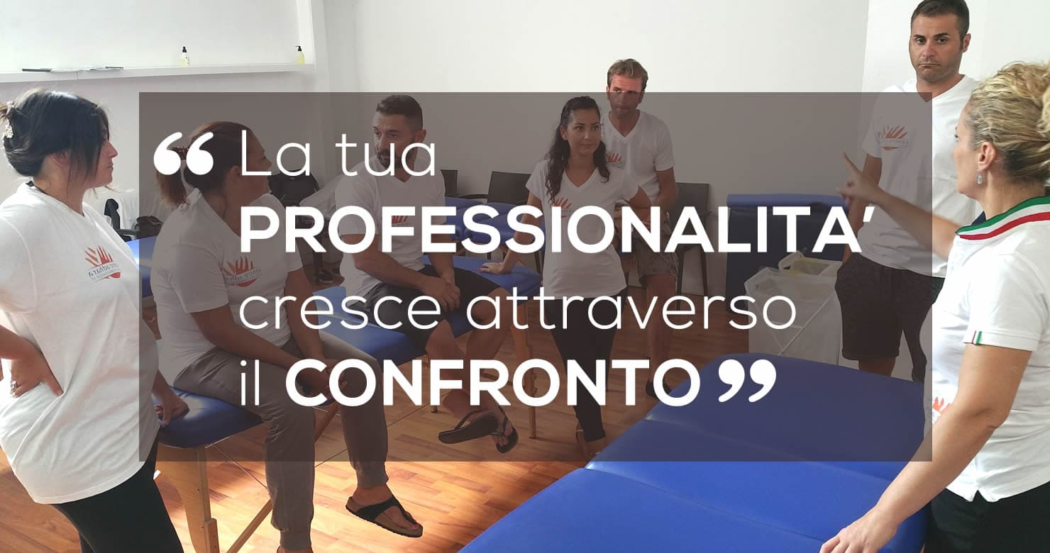 Professione Massaggiatore Crescita professionale motivazione