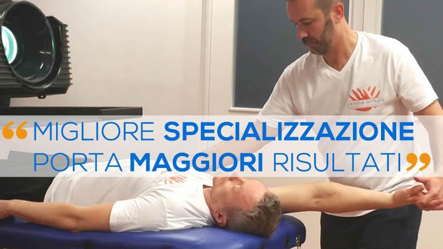Specializzazione Massaggio Sportivo Diploma Nazionale