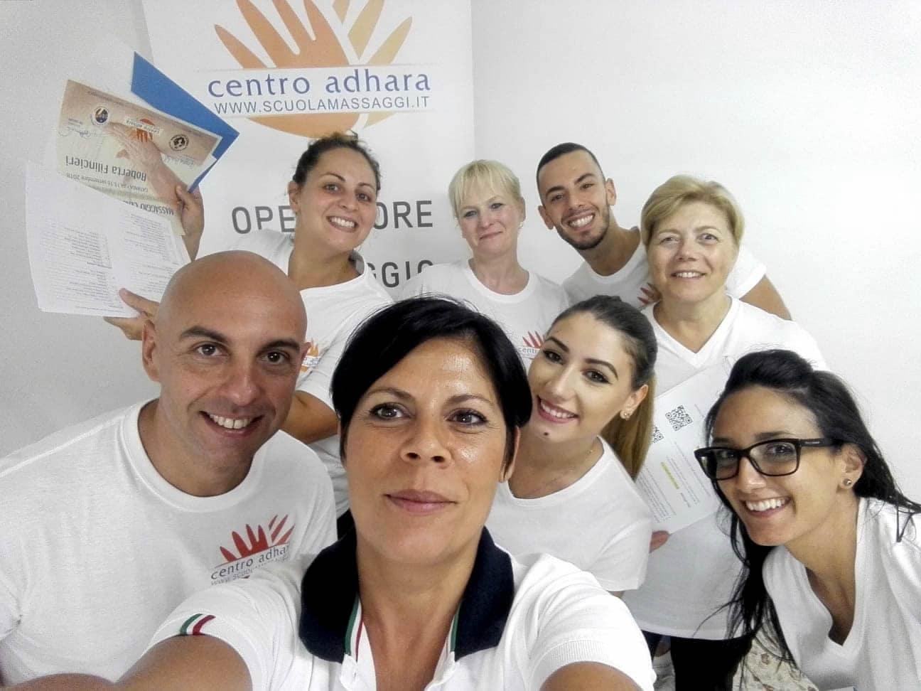 Catania Sicilia Corsi Operatore Massaggio Certificato Diploma Nazionale