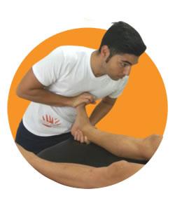 massaggiatore sportivo riconosciuto
