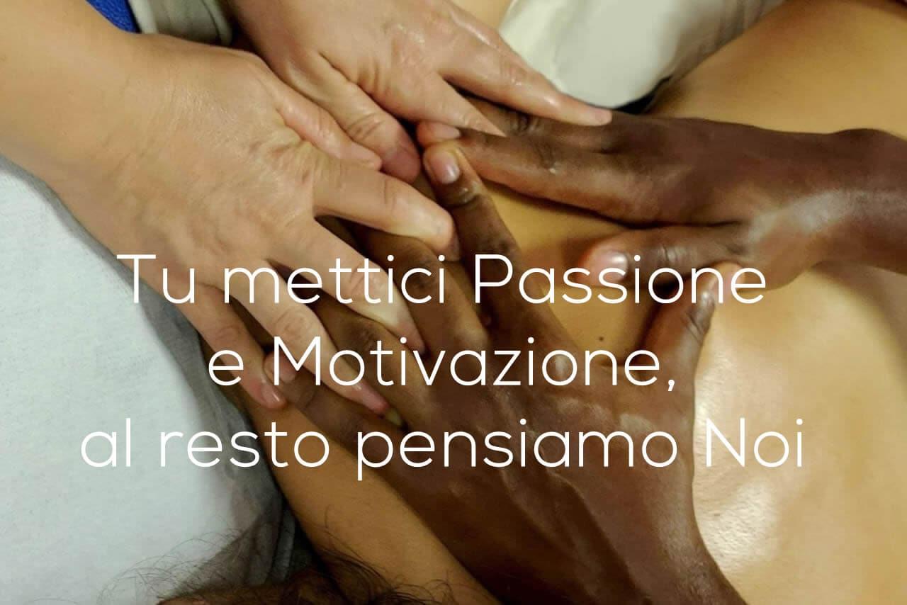 passione motivazione lavoro massaggiatore
